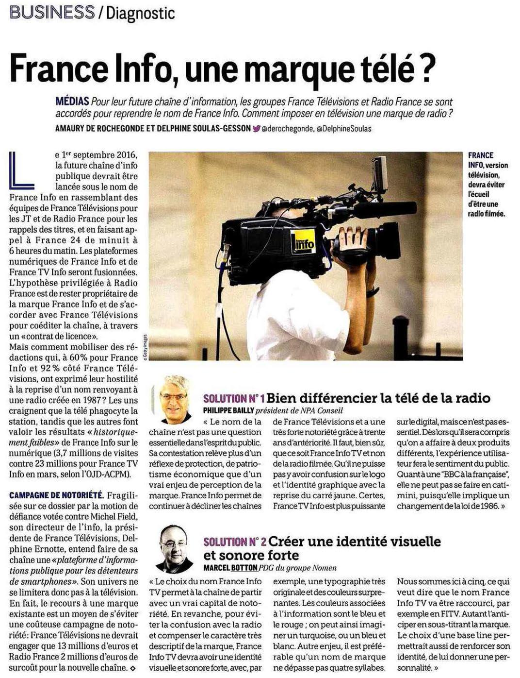 France Info, une marque télé ?