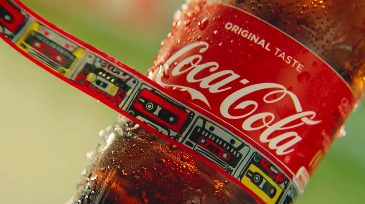 Coca-Cola en festival