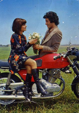 Flirt sur deux-roues
