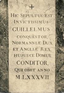 Tombe de Guillaume le Conquérant