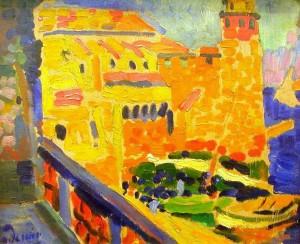 André Derain, Le Phare de Collioure, 1905