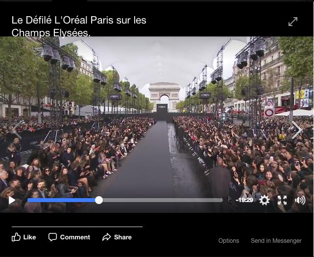 facebook live l oreal paris