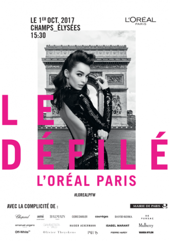 l' oreal paris défile de mide