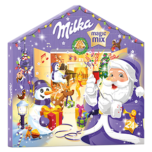 Calendrier de l'Avent Milka Magic Mix