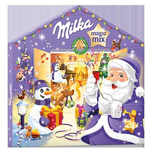 Calendrier de l'Avent Milka Magic Mix