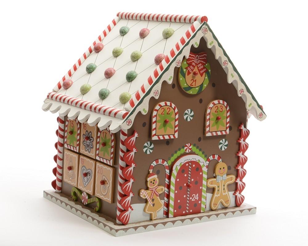 Calendrier de l'Avent Maison en bois