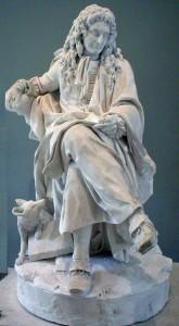 Jean de La Fontaine, de Pierre Julien, Louvre