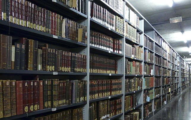 Magasin de la Bibliothèque centrale de l'Université Lille 3 © Anne Morenvillé - Insula