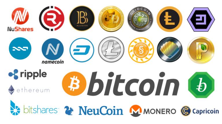 Naming et fonction des Cryptos-monnaies : bitcoin, ethereum, ripple...