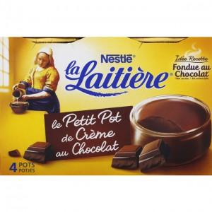 Pub La Laitière Pot de crème au chocolat