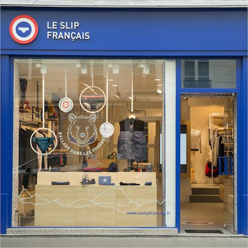 Boutique Le Slip Français