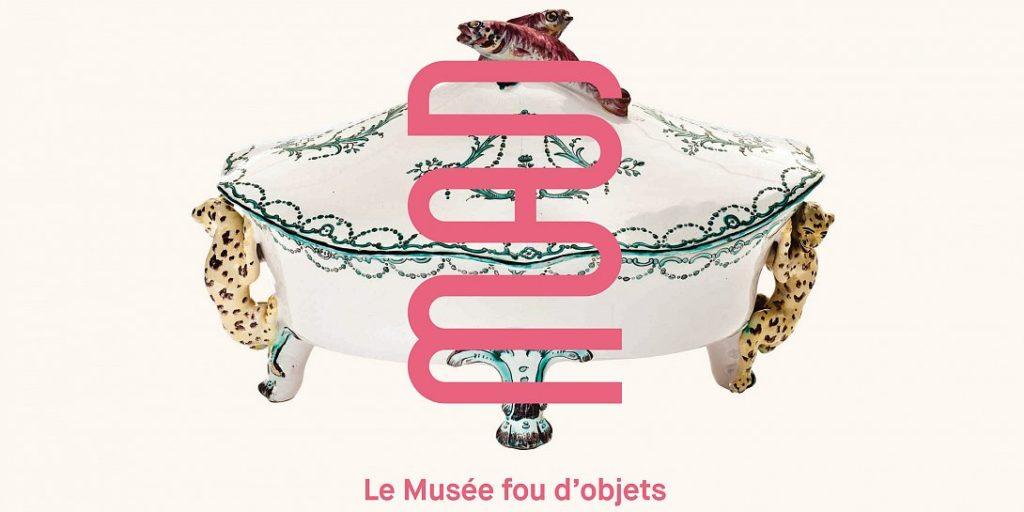 Affiche et logo du MAD, musée des arts décoratifs