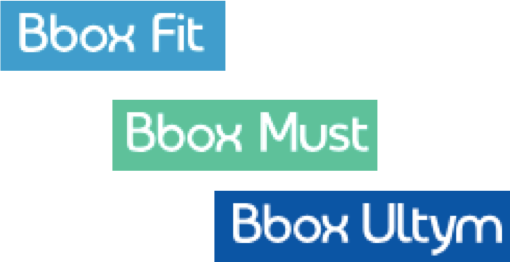 Bbox Fit, Bbox Must, Bbox Ultym