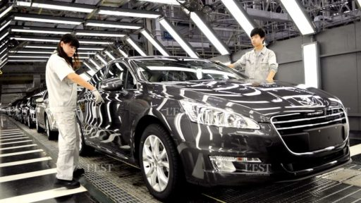 Les relations France – Chine sur le marché de l'automobile, entre alliance et concurrence.