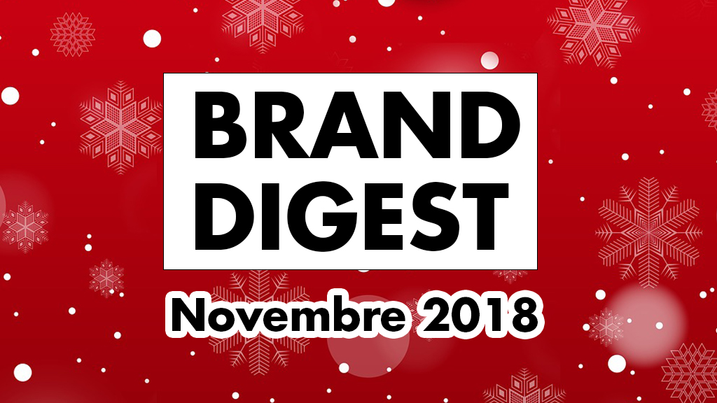 Brand Digest Novembre : Best of des marques et du Naming