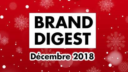 Brand Digest Décembre : Best of des marques et du Naming