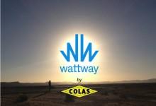 Wattway, la route intelligente